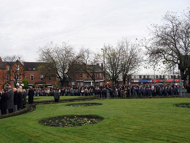 Remembrance Sunday urmston